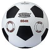 Tachikara SS4R traditional rubber soccer ball, size 4.