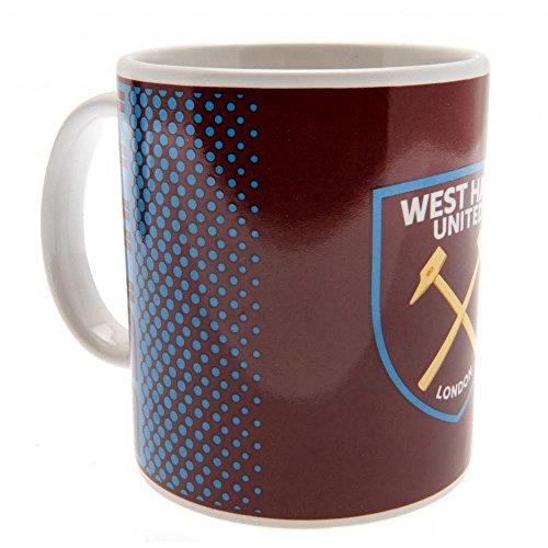 (West Ham Boxed Mug Fade Design)