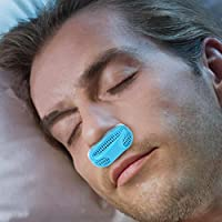 Anti Snoring Air Purification, Koalago Improve Breathing (Activated Carbon Filter Inside) Advanced Anti Snoring and Sleep Device, Free Snore Stopper Magnetic Silicone Nose Clip Sleeping Device (Blue)