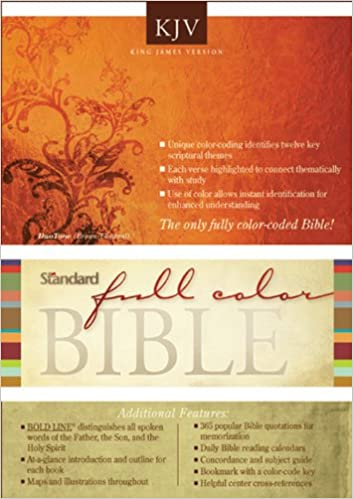 Standard Full Color Bible-KJV