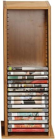 Lwieui Caja de Almacenamiento de CD El Soporte de DVD CD apilable Titular posee el 30 Standard Cajas de la Joya Gabinete de Almacenamiento de la Tienda Estanterías para CDs: Amazon.es: Hogar