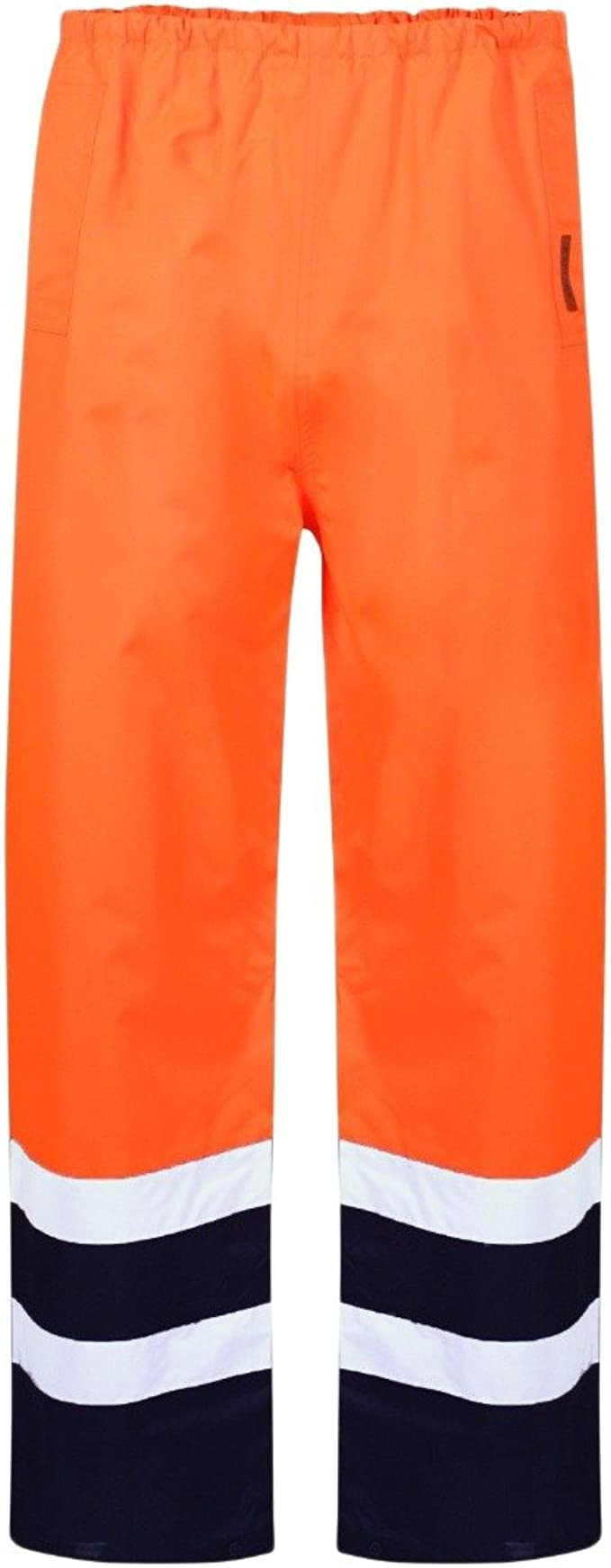 Bandas MyShoeStore de alta visibilidad el/ásticas e impermeables de poliuretano para cintura o pantalones 2 unidades tallas de S a 4XL