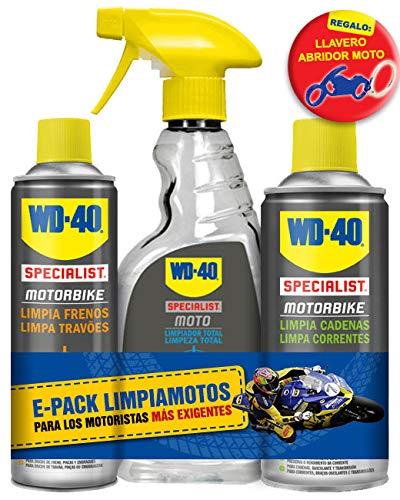 WD40 Motorbike E-Pack Limpieza Integral de Motos + Regalo ...