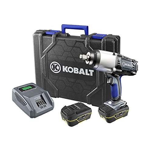 "Kobalt 20-Volt 1/2-in Drive Cordless Impact Wrench 1/2"" D..."
