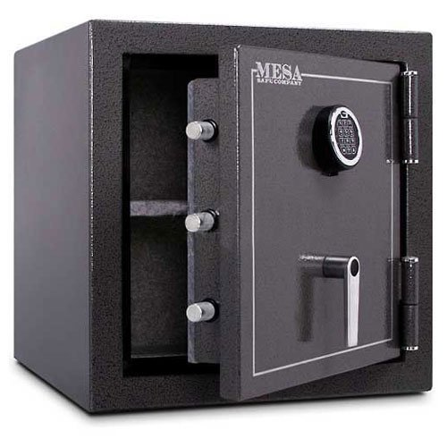- Mesa Safe Company Model MBF2020E Burglary and Fire Safe with Electronic Lock, Sandstone