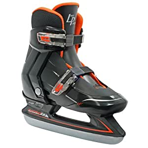 Lake Placid Nitro Boy's Adjustable Figure Ice Skate (Large/5-7)