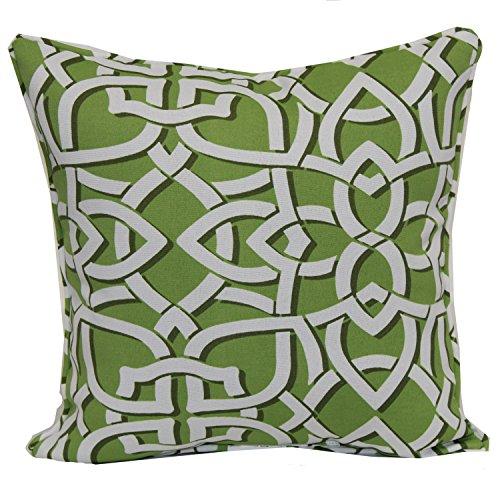 Brentwood Originals 35360 Indoor/Outdoor 17 Inch Toss pillow, Greystone Kiwi (Patio Brentwood Furniture)