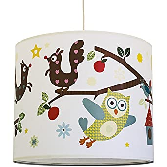 Anna Wand Lampenschirm Funny Forest Schirm Fur Kinder Baby Lampe