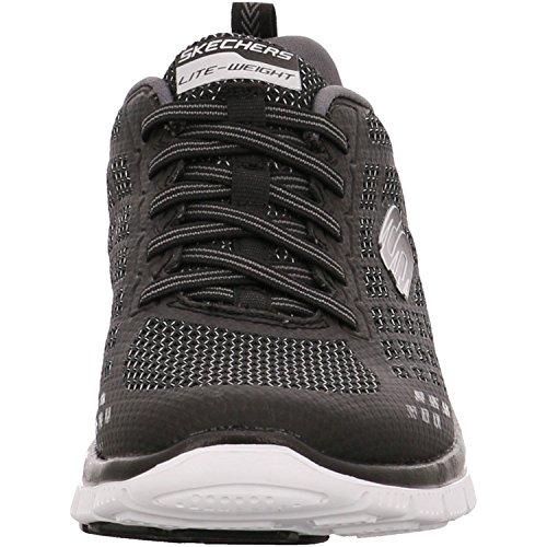 SkechersFlex Appeal - Zapatillas de running mujer Negro - Black (Bkgy)