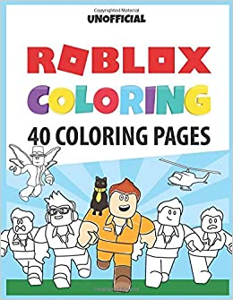 Roblox Coloring 40 Pages With Roblox Illustrations To Color Simon Lille - roblox character coloring
