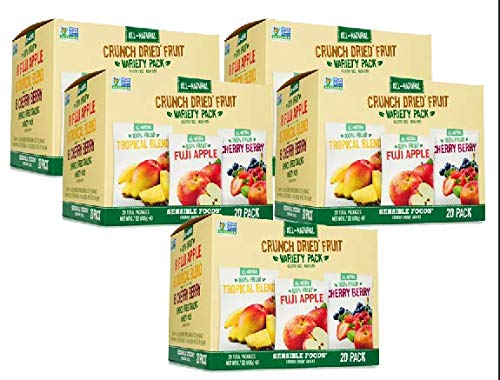 Sensible Foods Crunch Dried Fruit, 20 Count (5 Boxes) by Sensible (Image #6)