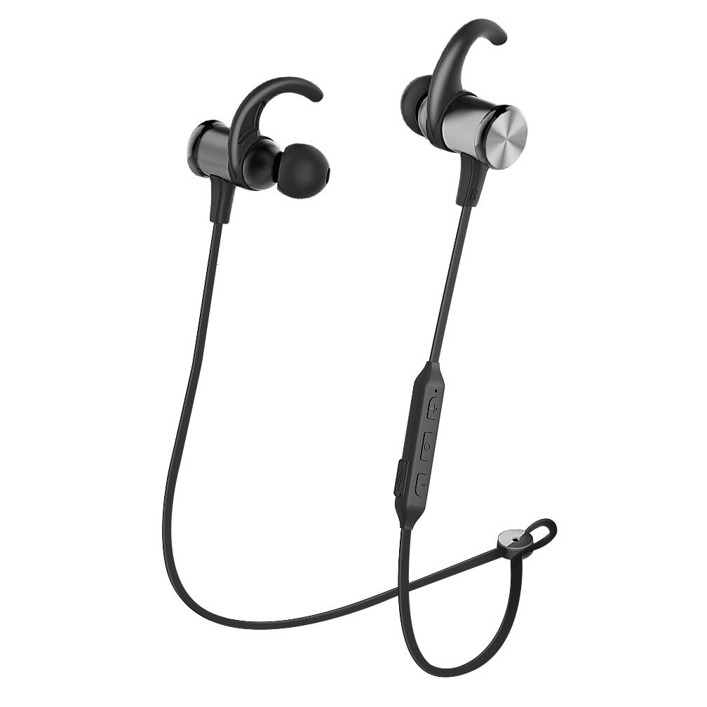 Bluetooth Headphones Metal Super Bass Wireless Sports Headset Magnet Sport Fitness Electronics