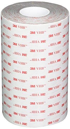 3M VHB Tape 4941, 6 in width x 5 yd length