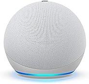 Nuevo Echo Dot (4ta Gen) - Bocina inteligente con Alexa - Blanco