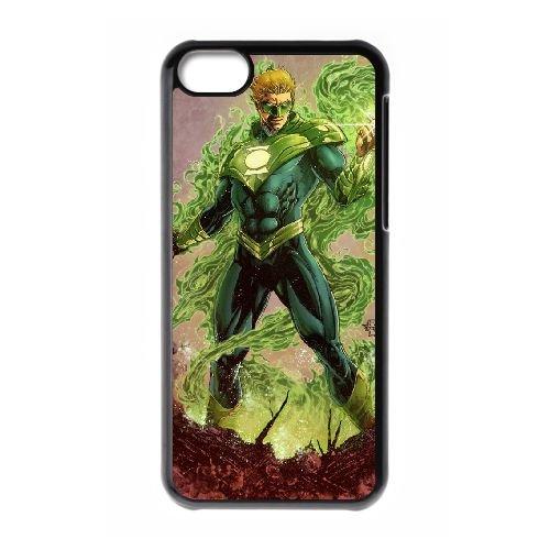 K1S47 Green Lantern V3D1VP cas d'coque iPhone de téléphone cellulaire 5c couvercle coque noire SG2TKI8OS