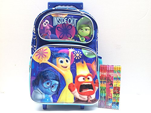 Disney Inside Rolling Backpack Pencil product image