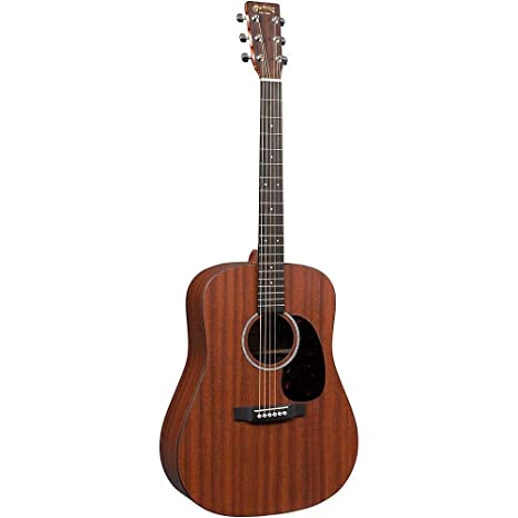 Martin X Serie dx2mae Dreadnought Guitarra Electroacústica Natural ...