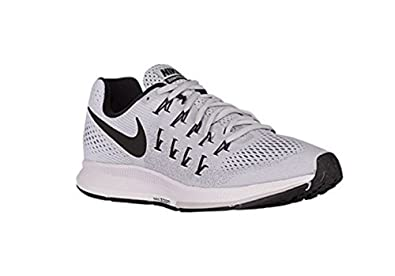 Nike Air Zoom Pegasus 33 TB Training Shoes PlatinumBlack 843802 002 Size 15