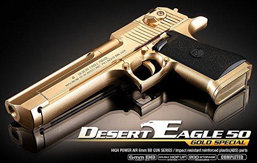 Academy #17223 DESERT EAGLE 50 - GOLD SPECIAL Airsoft Gun Hand Grips Pistol ()