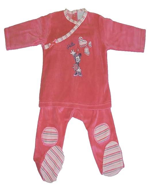 Disney Baby Pijama, 100% algodón Multicolor coral