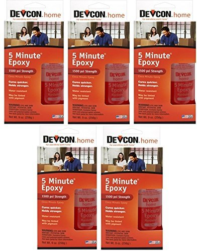 Devcon 20945 S-209 High Strength 5-Minute Fast Drying Epoxy