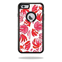 MightySkins Protective Vinyl Skin Decal for OtterBox Defender iPhone 5C Case wrap cover sticker skins Red Petals