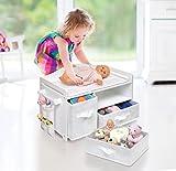 Badger Basket White Rose Doll Care Station (fits American Girl Dolls)