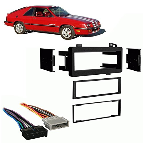Plymouth Turismo - Fits Plymouth Turismo 84-87 Single DIN Stereo Harness Radio Install Dash Kit