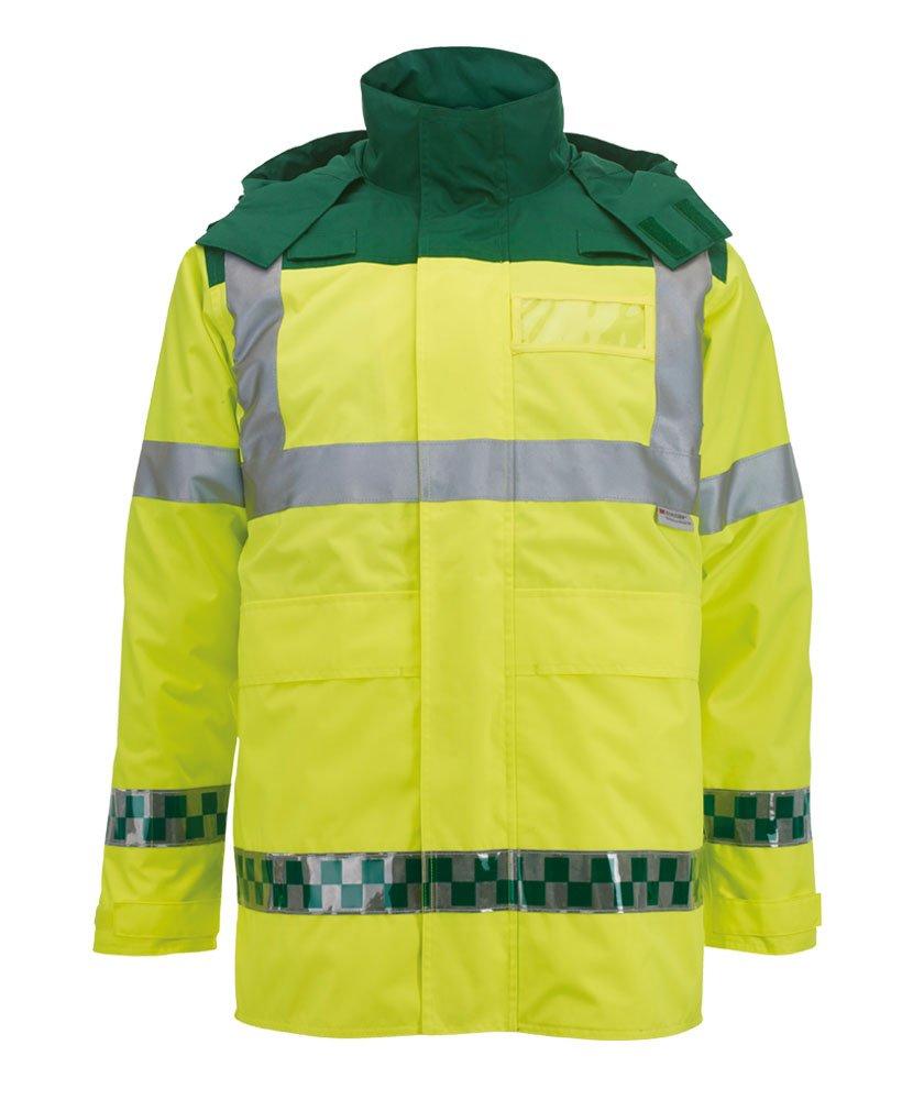 Alexandra al-nu95hy-m ambulancia chaqueta, Plain, tamaño mediano, Hi-Vis amarillo: Amazon.es: Industria, empresas y ciencia