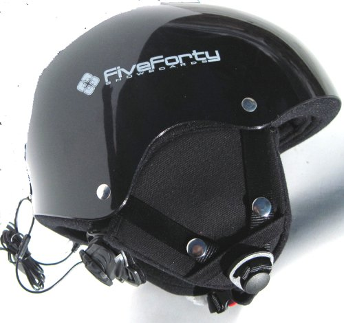 Snowjam 540 Apollo 2 Ski Snowboard Audio Helmet Black XLarge 2012, Outdoor Stuffs