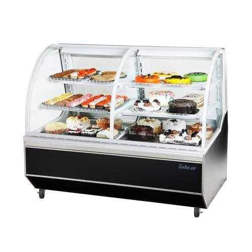 (TCB5R Deli and Bakery Case with High Density PU Insulation Sloped Rear Doors Cantilevered Wired Shelves 5