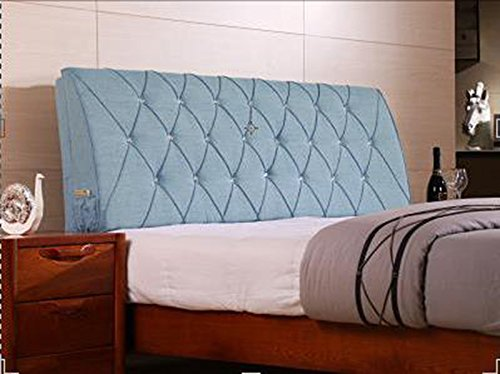 AIDELAI Backrest- Bed Backrest Cushions Upholstered Leather Upholstered Cushions Shall Cover Removable and Washable Cloth Bed (Color : D, Size : M)