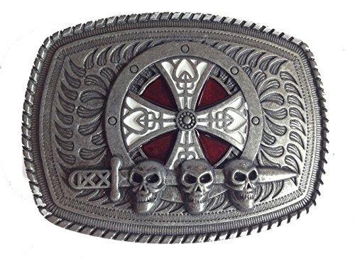 Skull Buckle Metal - 1