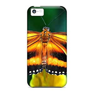 BCGjRgi2700cHMtA Anti-scratch Case Cover DaMMeke Protective Beautiful Butterfy Case For Iphone 5c
