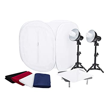 Fovitec StudioPRO 24u0026quot; Photo Studio Portable Table Top Product Photography Lighting Tent Lightbox Kit -  sc 1 st  Amazon.com & Amazon.com : Fovitec StudioPRO 24