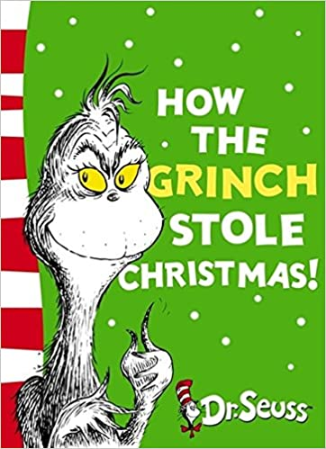 The Grinch Who Stole Christmas Book.How The Grinch Stole Christmas Yellow Back Book Dr Seuss