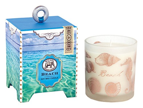 Michel Design Works Gift Boxed Soy Wax Candle, 6.5-Ounce, Beach