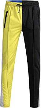 Pantalones Hombre Pitillo Vaqueros Casual Sólido Suelto Pantalones ...