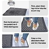 Disinfect Front Door Mat&Shoe Soles Disinfecting