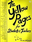 The Yellow Pages for Students and Teachers, Imogene Forte and Joy Mackenzie, 0913916889