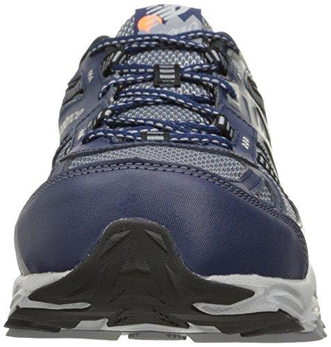 New Balance Mens Mt410v4 Scarpa Da Trail Running Grigio Blu