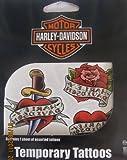 Harley Davidson Temporary Tattoos