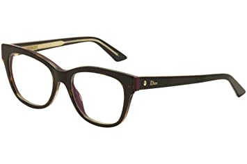 4539358bac0 Image Unavailable. Image not available for. Color  Christian Dior Montaigne  6 G90 Havana Crystal Lilac eyeglasses