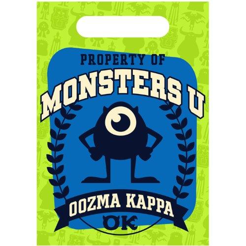[Monsters University Favor Bags (8 Count)] (Oozma Kappa Costume)
