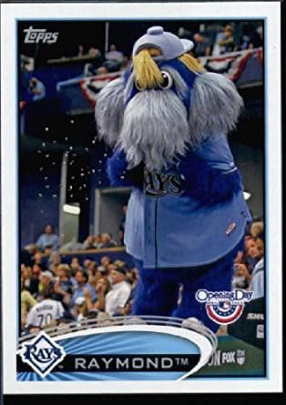 2012 Topps Opening Day Mascots Baseball Card #M -6 Raymond - Tampa Bay Rays