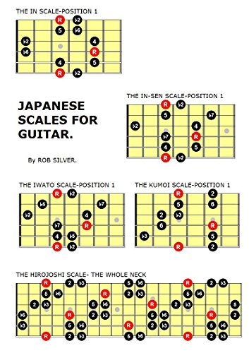 JAPANESE SCALES FOR GUITAR. (Basic Scale Guides for Guitar. Book 16)
