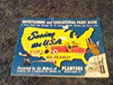 Seeing the Usa with Mr Peanut Paint Book