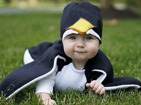 Fossen Disfraz Pinguino Ropa Bebe Niña Niña Tops con Cubierta del ...