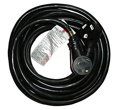 25' Ft RV 30 Amp STW 10/3 Heavy Duty RV Extension Cord Power Supply Cable, Trailer Motorhome Camper