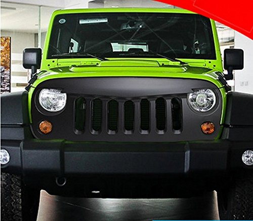 2015 Latest Black Front Matte Grill Mesh Grille Angry Bird